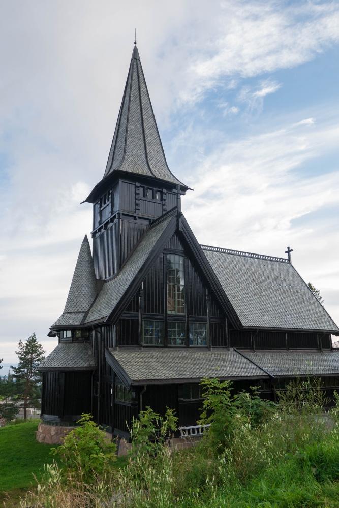 Holmenkollen in Oslo in Norwegen