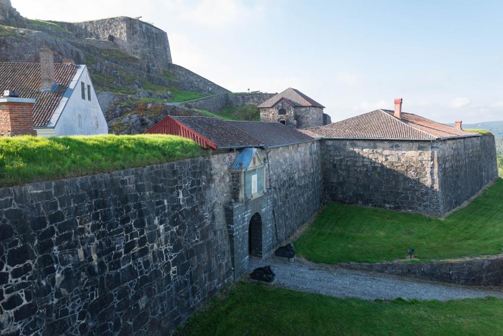 Festung Fredriksten in Halden im Østlandet in Norwegen