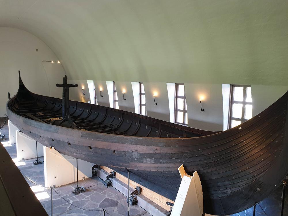 Vikingskiphuset auf Bygdøy in Oslo in Norwegen