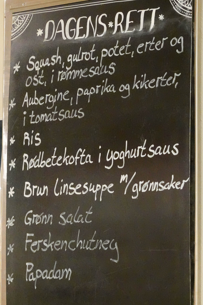 Krishnas Cuisine in Oslo in Norwegen