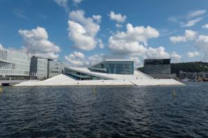 Opernhaus in Oslo in Norwegen