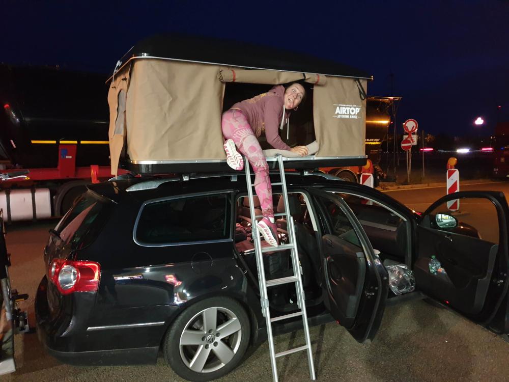 Mit dem Dachzelt zur Ostsee