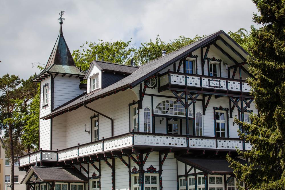 alte Villa in Heringsdorf / Insel Usedom