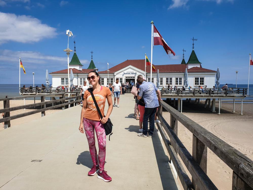 neue Seebrücke in Ahlbeck / Insel Usedom