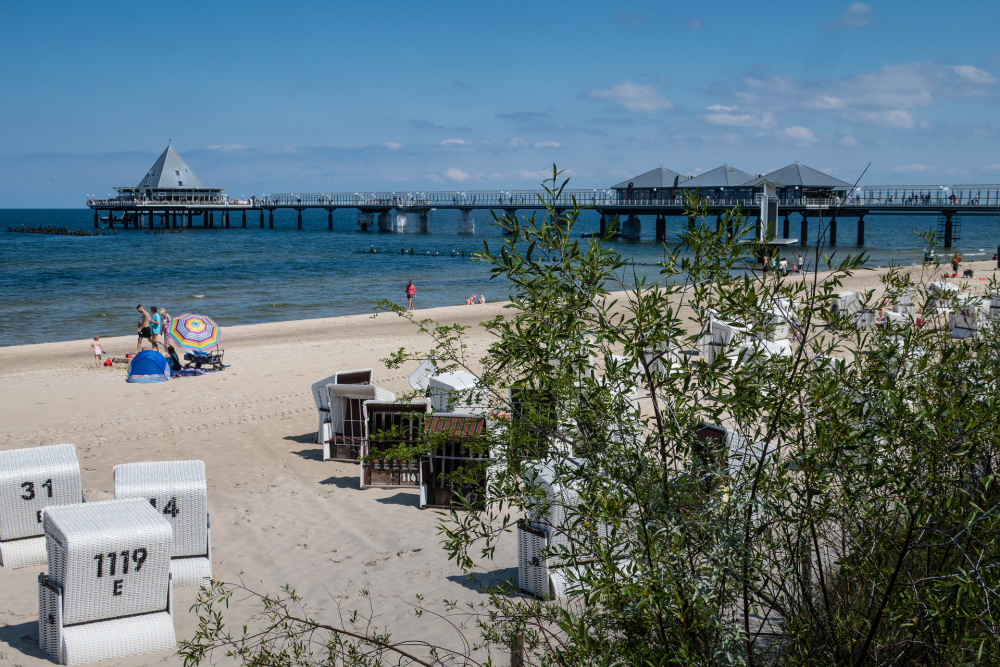 Seebrücke von Heringsdorf / Insel Usedom