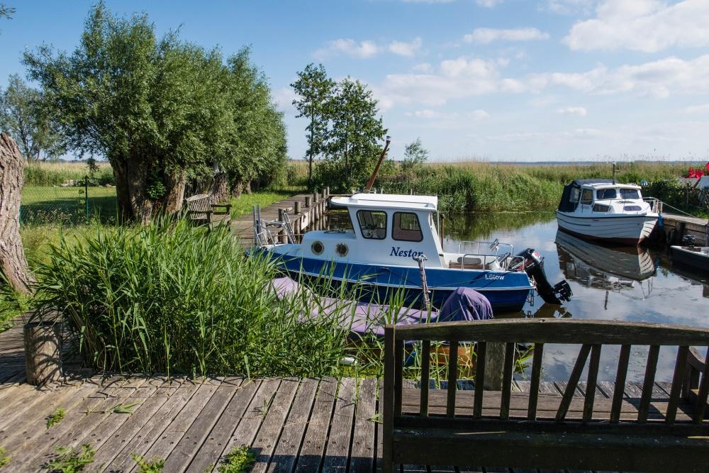 Binnenküste auf Gnitz / Insel Usedom