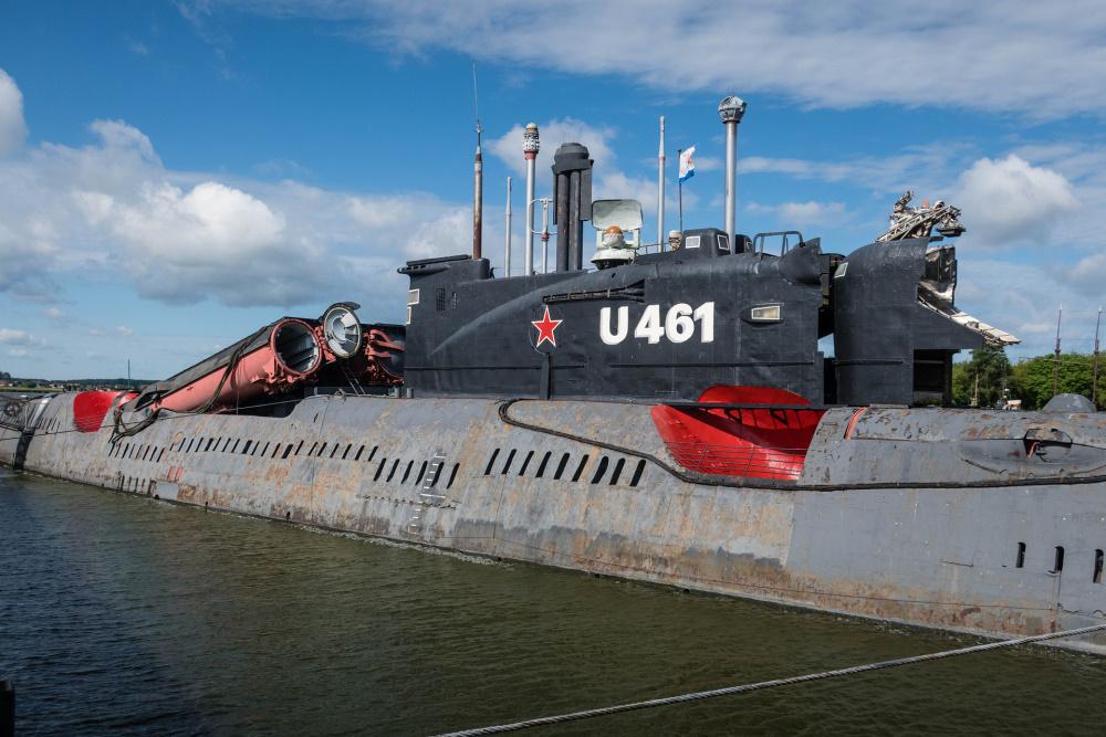 Russisches U-Boot in Peenemünde / Insel Usedom