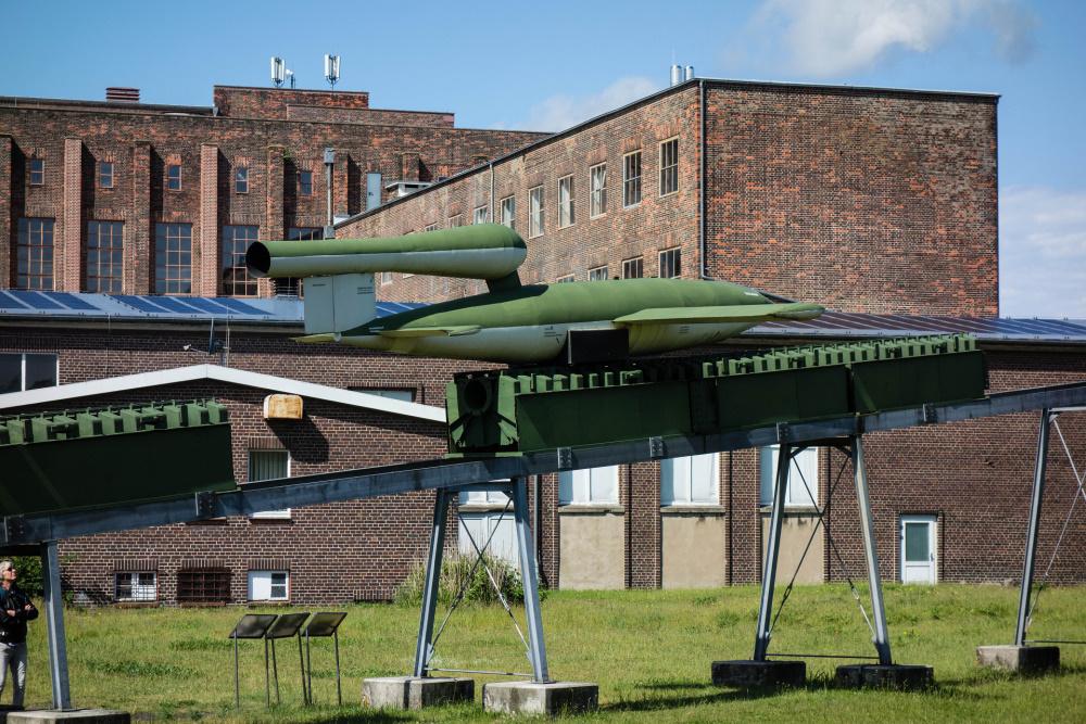 Flugbombe V1 im Museum Peenemünde / Insel Usedom