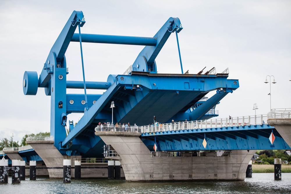 Wolgaster Peenebrücke / Insel Usedom