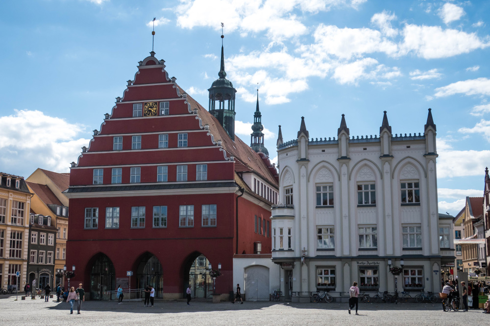 Rotes Rathaus in Greifswald