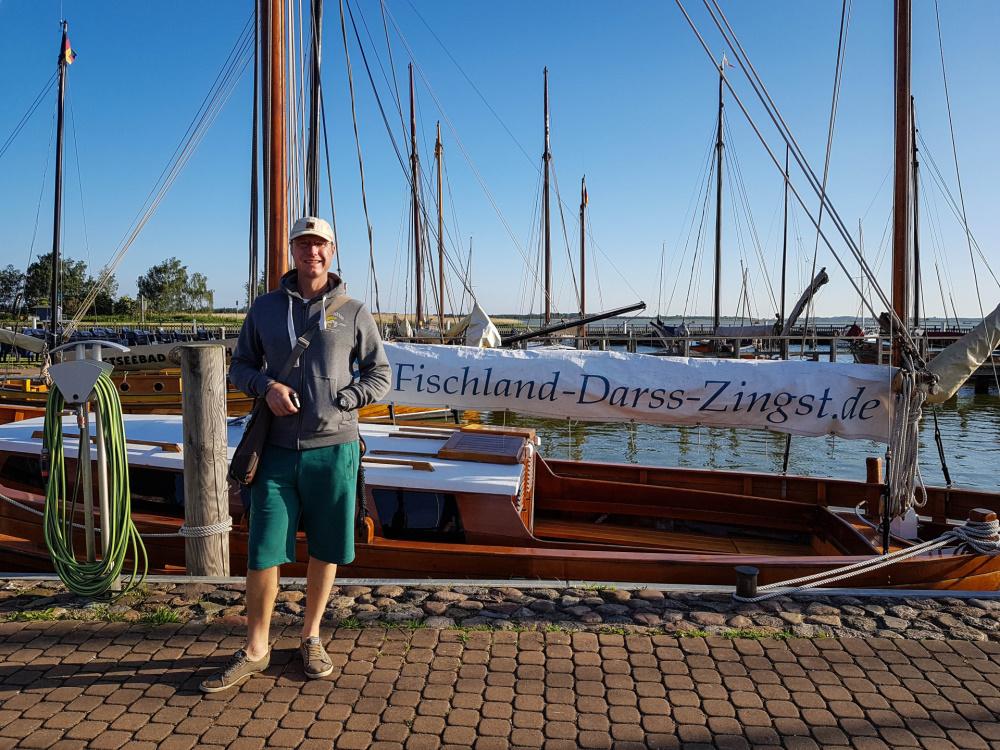 Hafen in Dierhagen-Dorf auf Fischland