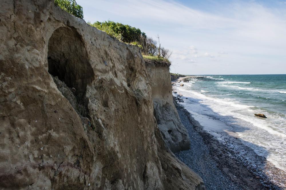 Steilküste zwischen Wustrow und Ahrenshoop