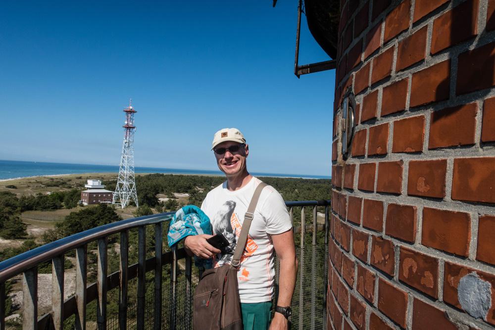 vom Leuchtturm Blick über den Darßer Ort