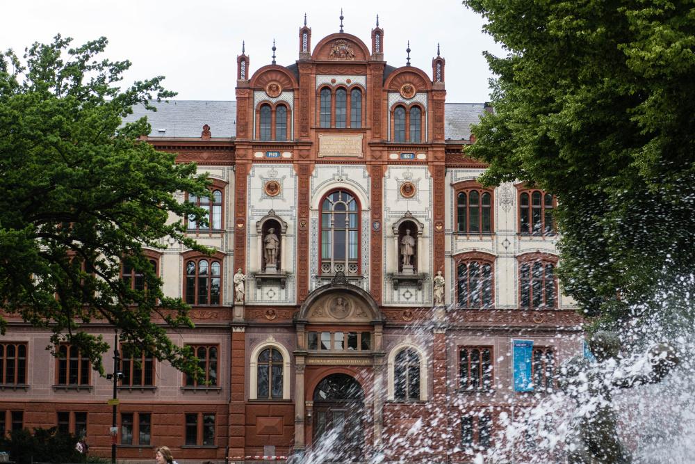Universitätsgebäude in Rostock