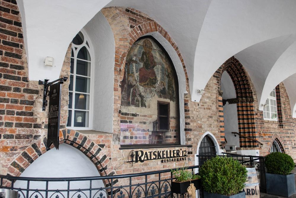 gotische Elemente am Rostocker Rathaus