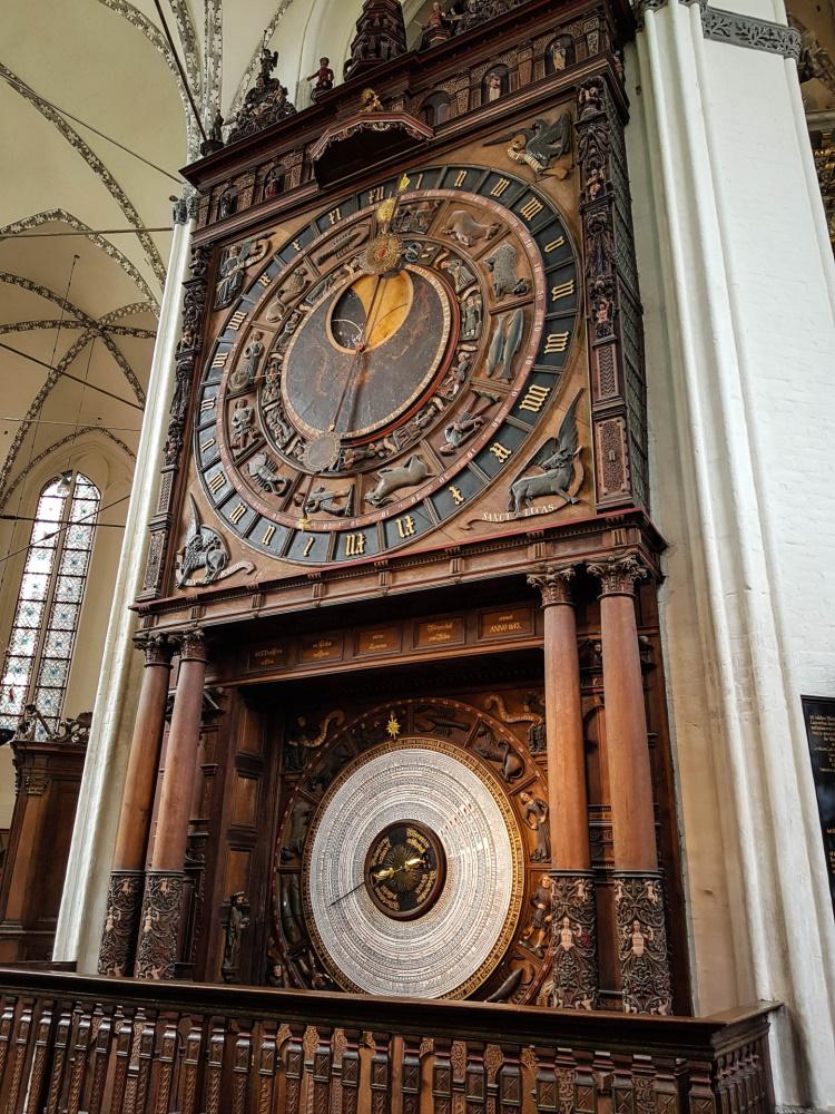Astronomische Uhr in der Marienkirche / Rostock