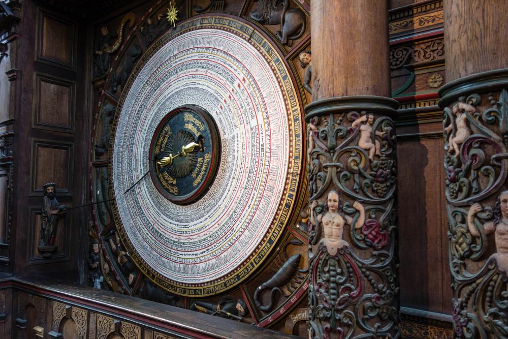 Astronomische Uhr der Rostocker Marienkirche
