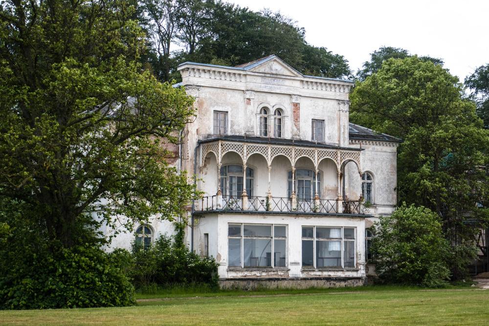 verfallene Villa in Heiligendamm
