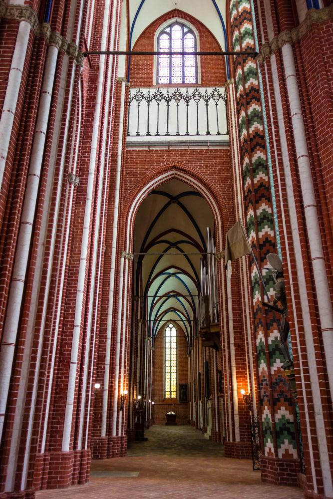 Seitenschiff im Doberaner Münster
