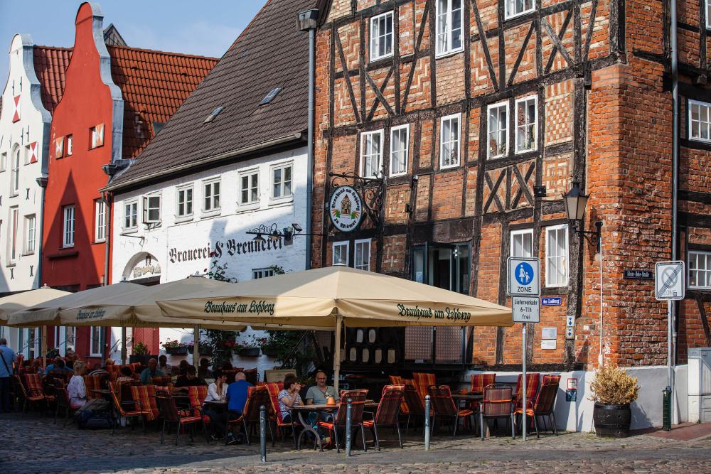 Fachwerkhäuser Am Lohberg in Wismar