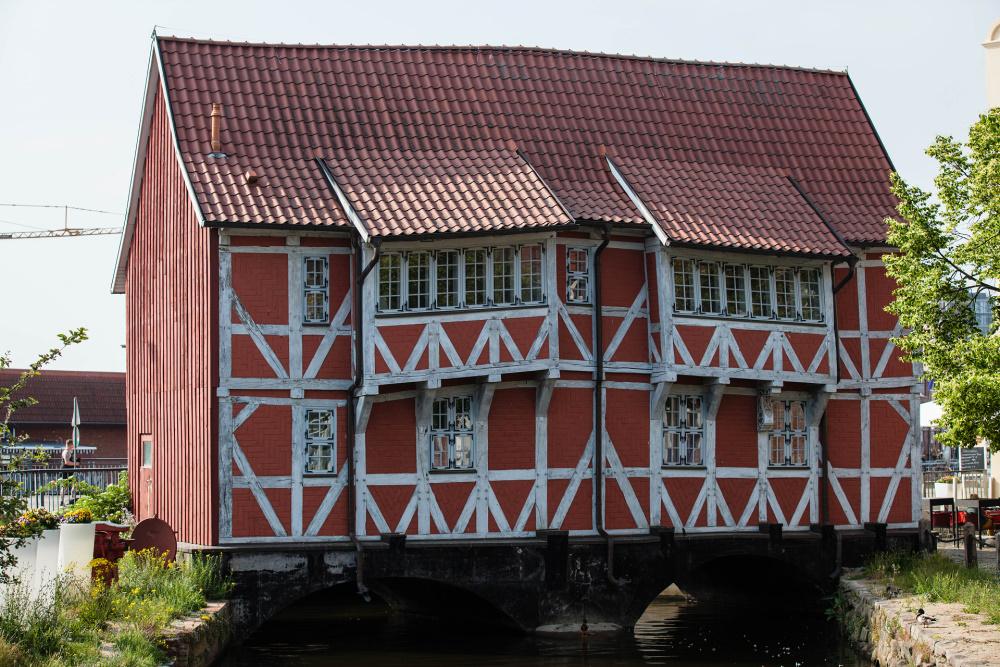 das Gewölbe in Wismar