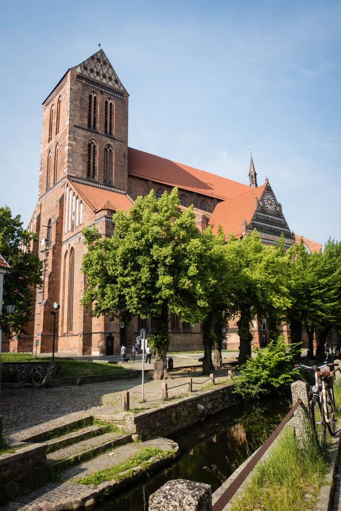 spätgotische Nikolaikirche in Wismar