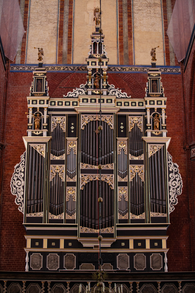 Orgel in der Nikolaikirche in Wismar