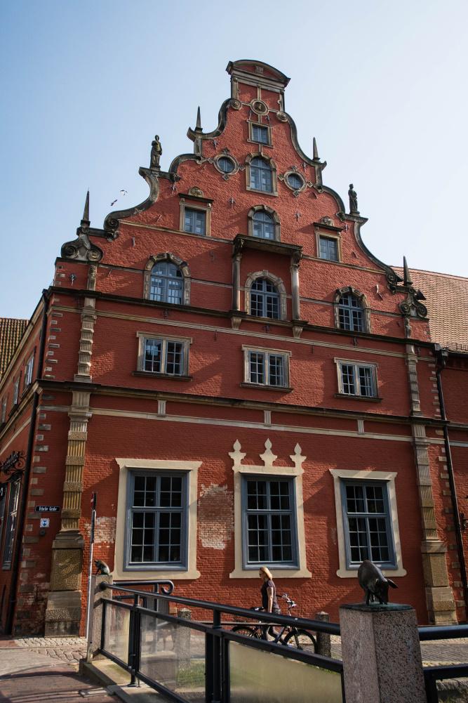 Renaissancefassade des Schabbellhauses in Wismar