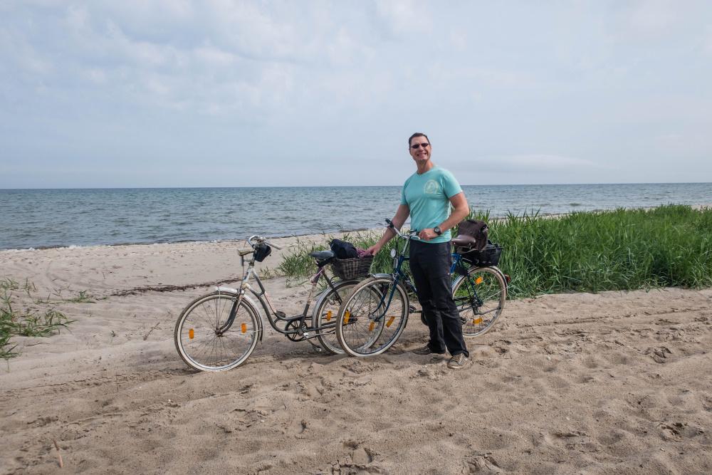 sandige Fahrradtour auf Poel