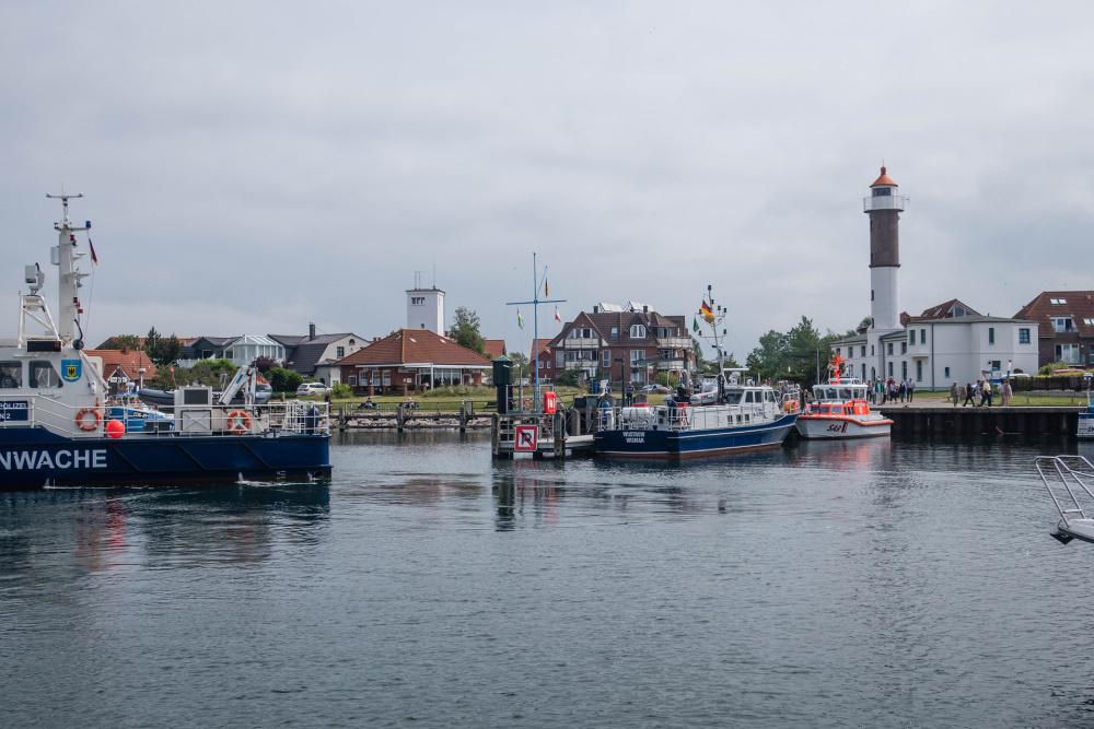 im kleinen Hafen von Timmendorf auf Poel