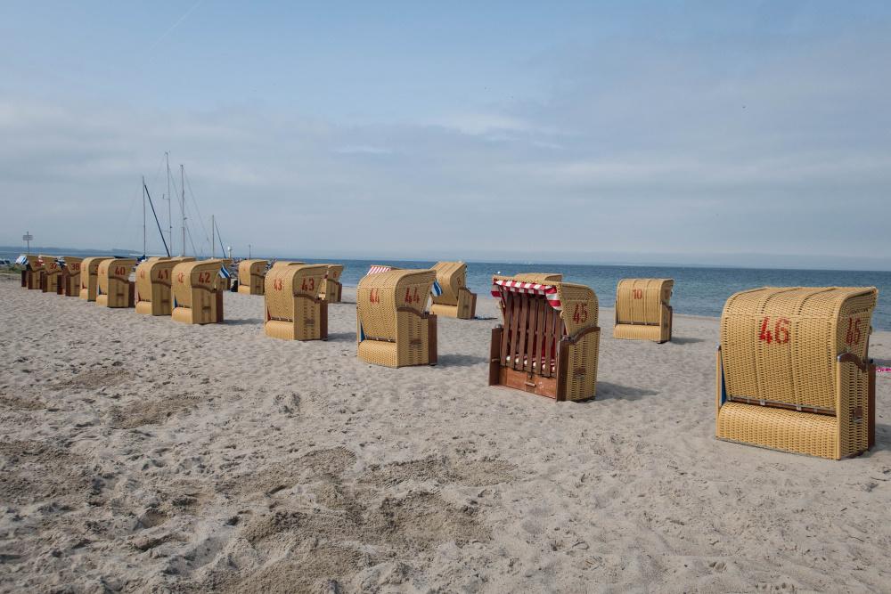 am Strand von Timmendorf auf Poel