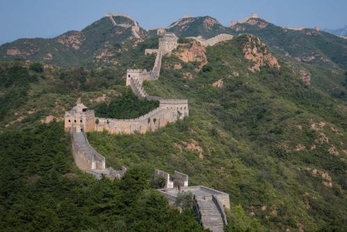 Chinesische Mauer bei Jinshanling / China