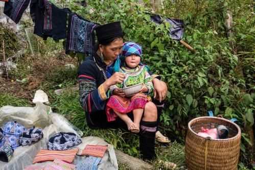 Hmong in Sapa / Vietnam